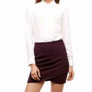 Aritiza Sunday Best Primrose Shirt (Plum)
